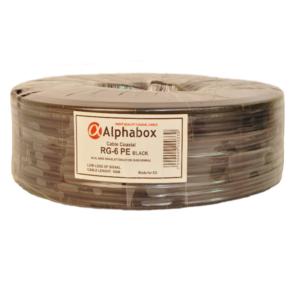 Наружный кабель Alphabox RG-6U PE
